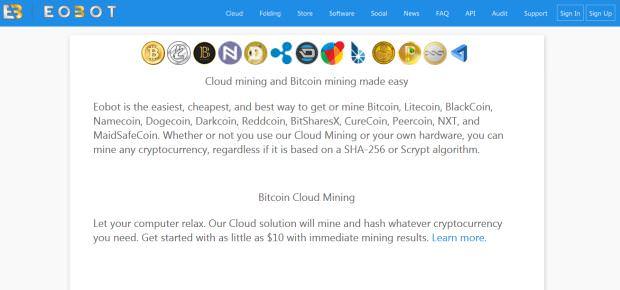 Eobot Cloud Services