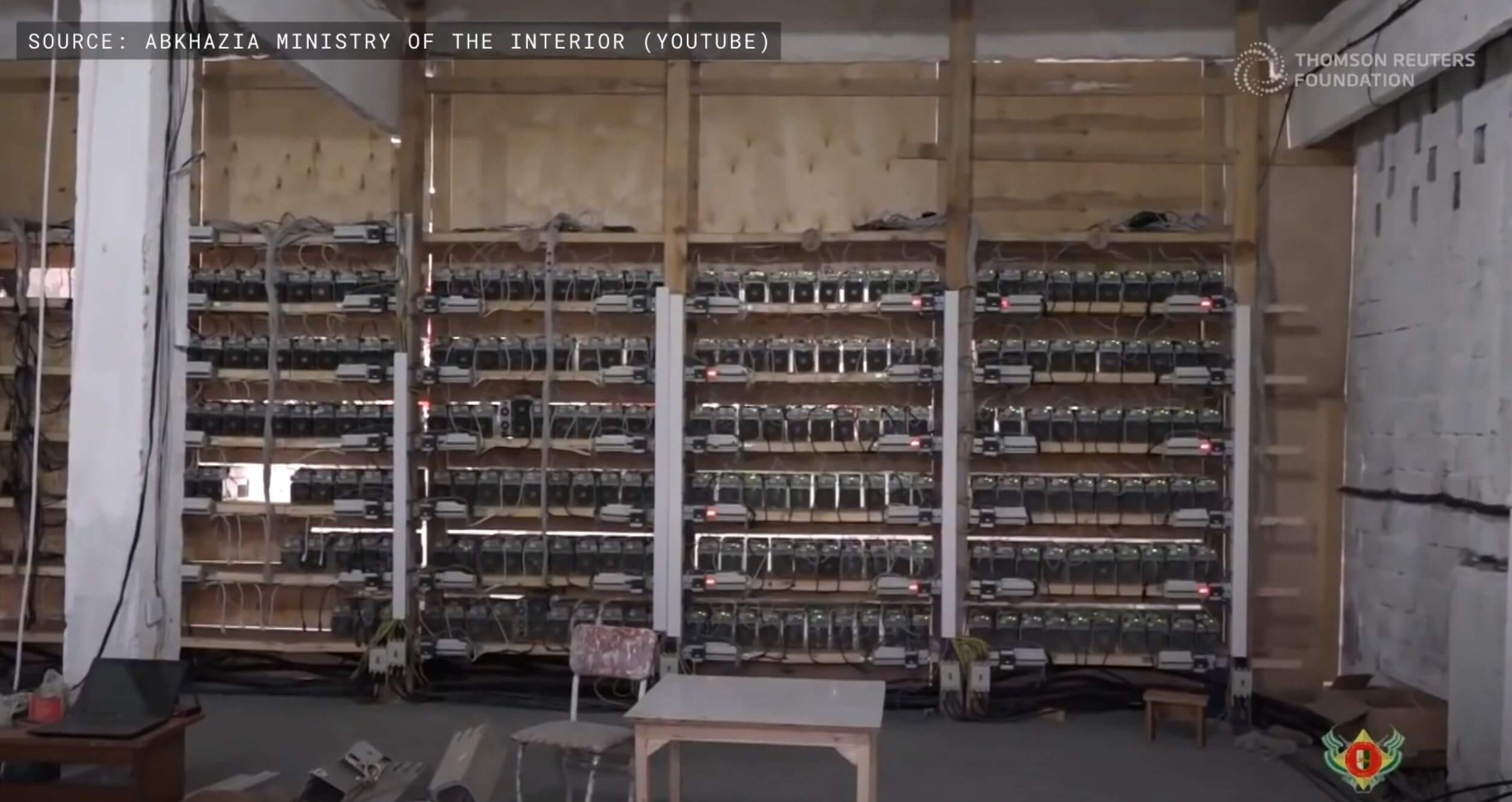 Thomson Reuters Foundation – How Bitcoin mining impacts the environment