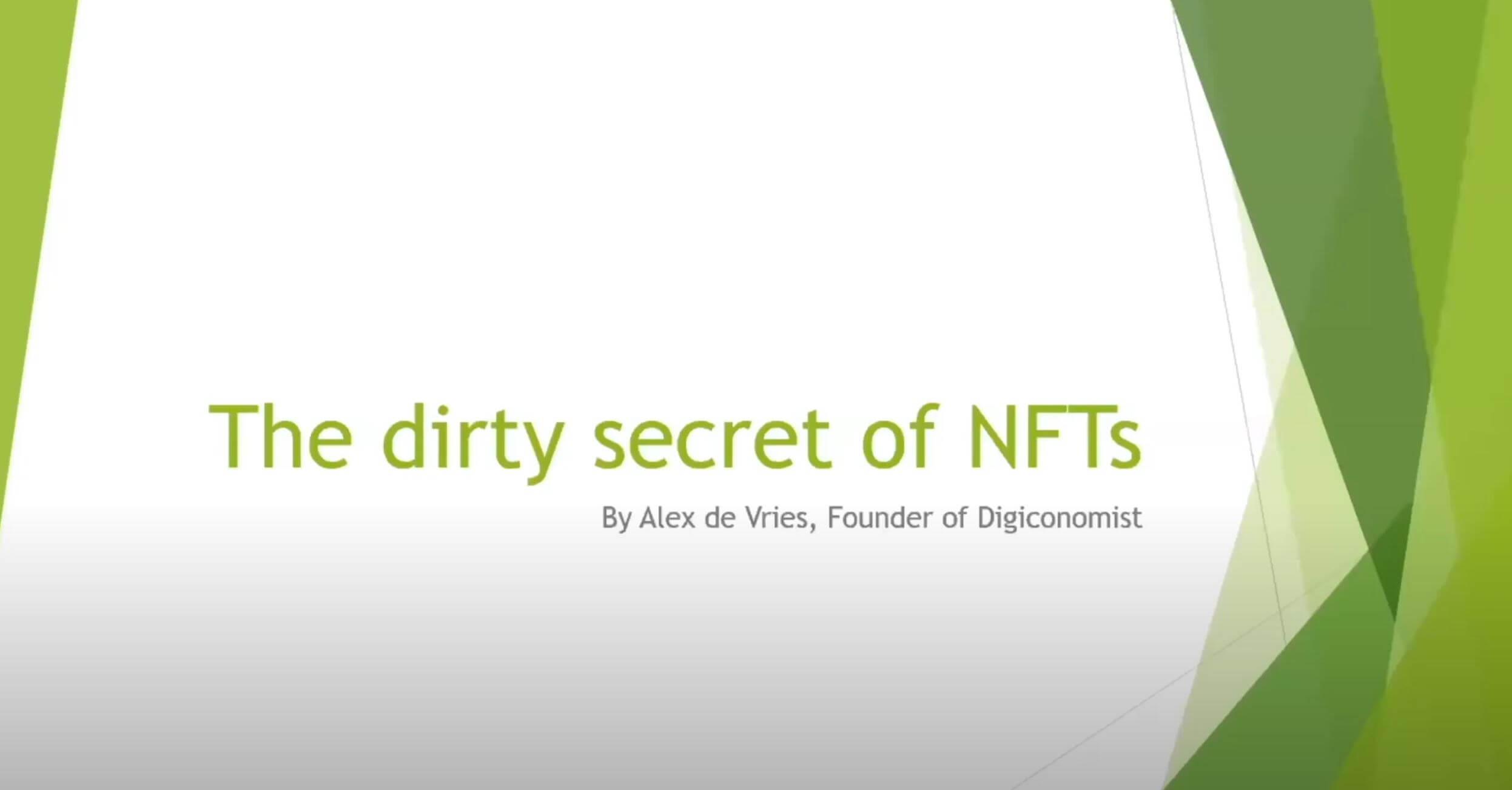 Fashion Tech Summit: NFTs & Sustainability